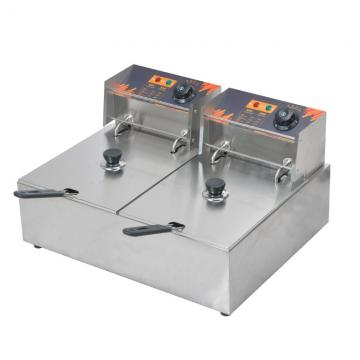 Gas Floor Type Double Tank Fryer for Kitchen Carrying Et-75