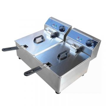 Cnix Ce Approved Stainless Steel Ofe-28A Deep Fryer (Double tanks and double baskets)