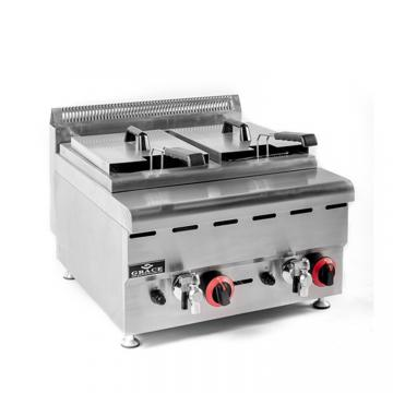 Hot Sale Gas Fryer with Ce, Heavy Duty Free Standing Chicken Fish Fryer for Sale Malaysia