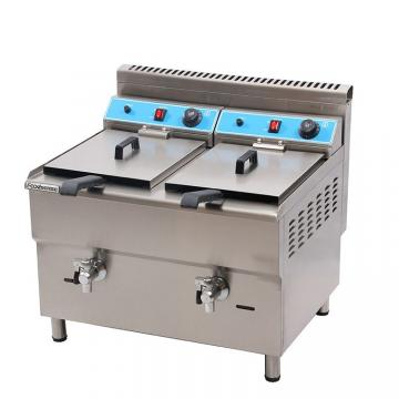 Single Tank Electric & Gas Deep Fryer with Oil Filter