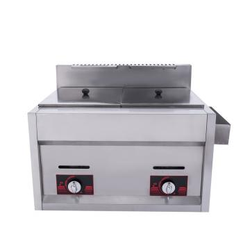 Commercial Counter Top Gas Deep Fryer for Restaurant