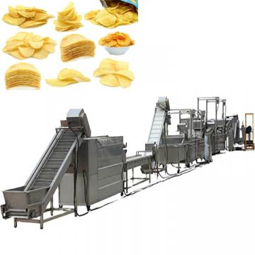Commercial Used Stainless Steel 304 Small Scale Frozen French Fries Making Machine Potato Chips Production Line