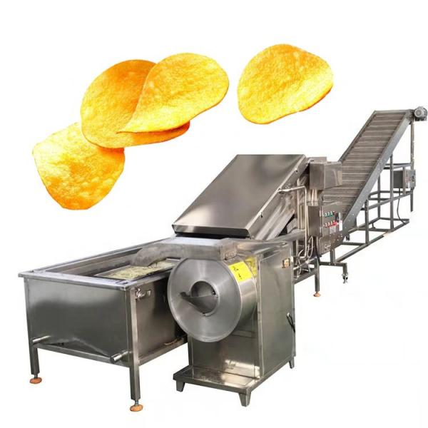 Potato Chips Making Machine Automatic Snack Potato Chips Processing Plant Potato Chips Making Machine